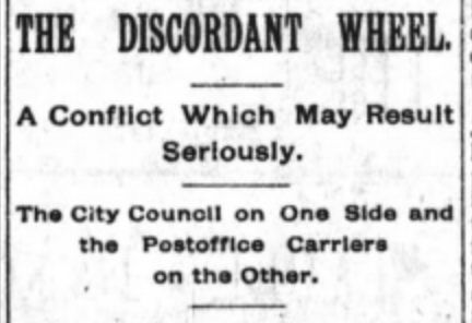 Headlines from the front page of The Arizona Republican on Sept. 23, 1893. Idk who wins in showdown between bureaucracies, but I do know it's not often you or me.