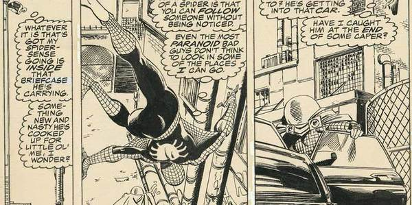 John Byrne - Spider-Man Original Comic Art