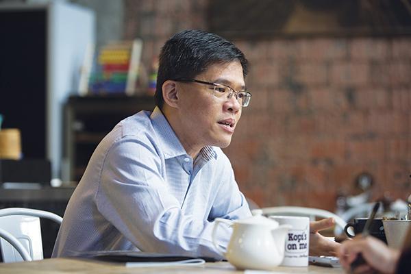 GovTech Singapore's CEO Kok Ping Soon (Credit: Norman Ng / PSD)