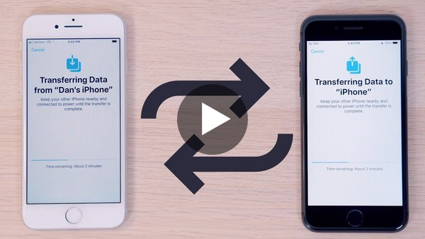 How to Use Apple's New iPhone to iPhone Data Migration Feature!