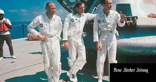 Alkohol, Scheidung, Sinnkrise – wie Astronauten ihre Fahrt zum Mond verdauten