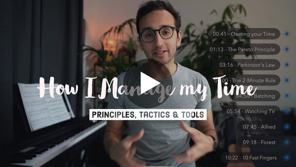 How I Manage my Time as a Doctor + YouTuber - 9 Time Management Tips (2019)