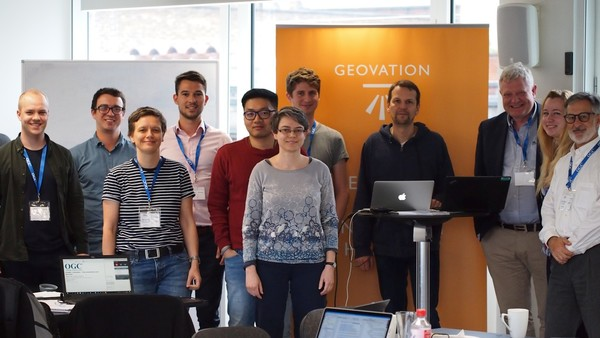 Attendees of the CityGML Hackathon in June