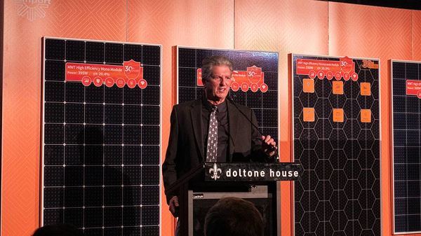 'Father of PV' Martin Green launches next-gen  solar modules