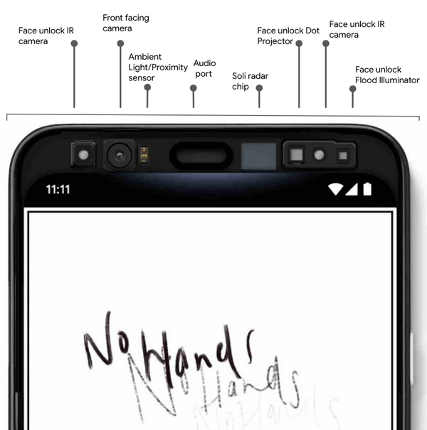 Google shows off the Pixel 4's tech way ahead of launch. Credit: Google