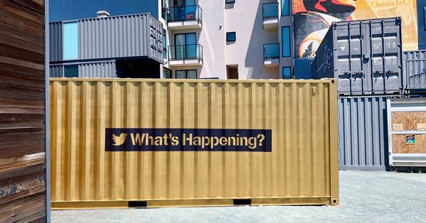 Twitter brings global video chat container art back to SF - Curbed SF