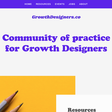 Community of practice for Growth Designers