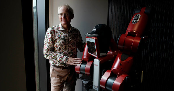 Toby Walsh, A.I. Expert, Is Racing to Stop the Killer Robots