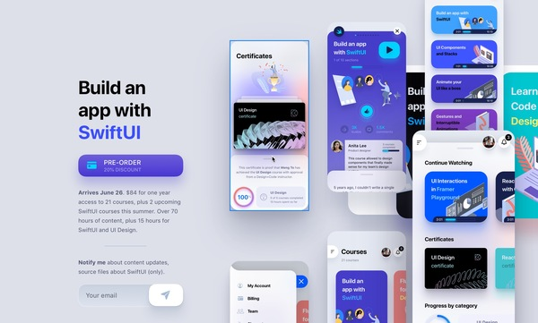 Design+Code — Build an app with SwiftUI