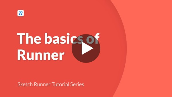 Sketch Runner Tutorial: The basics of Sketch Runner
