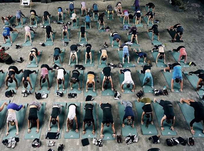 HIIT/Run/Yoga event!