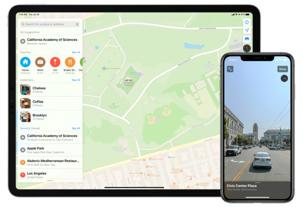 Apple Maps in iOS 13: Sights Set on Google