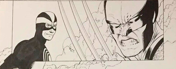 John Cassaday - X-Men original Comic art