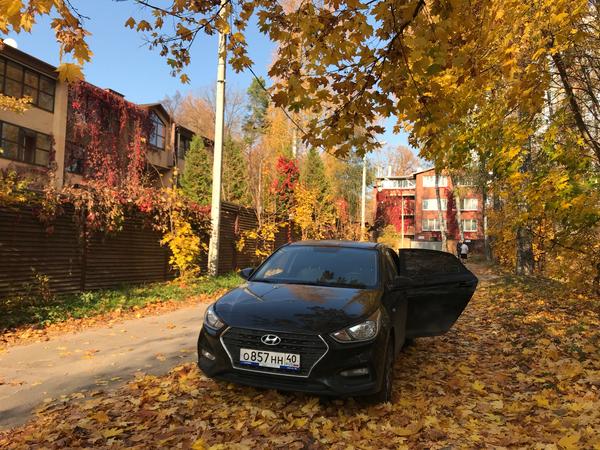 Бешено золотая осень