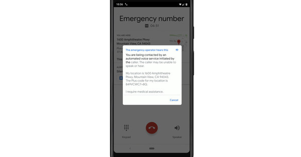 Google will start using its text-to-speech technology for emergency calls on Pixels