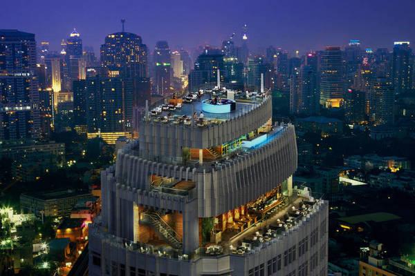 Octave Rooftop Bar & Lounge. A-klasse uitzicht.