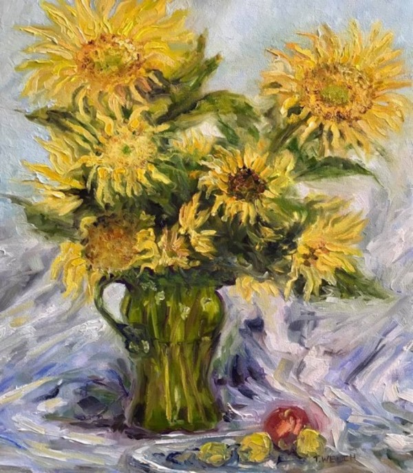 Katherine's Sunflowers by Terrill Welch | Artwork Archive