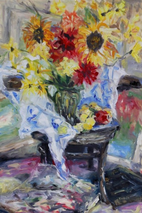 August Still Life with Cezanne and Matisse by Terrill Welch | Artwork Archive