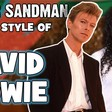 Enter Sandman in the Style of David Bowie
