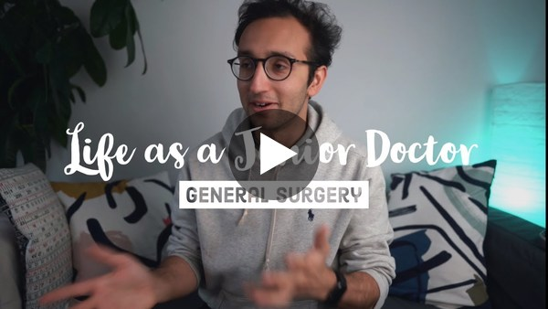 General Surgery - A Day in the Life - Junior Doctor Vlog