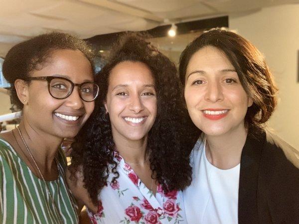 Ebissé, Mariam & Touria