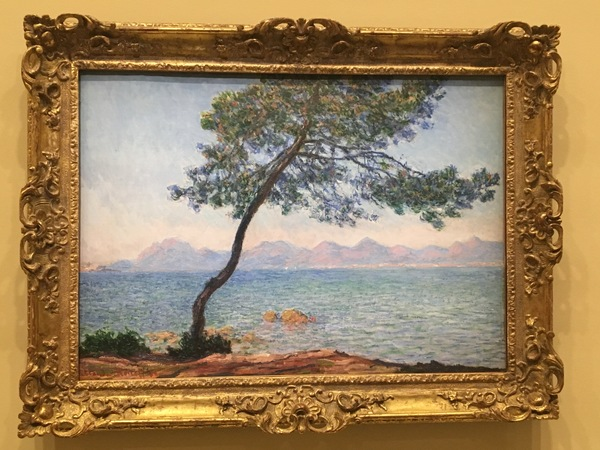 Antibes, by Monet, in 1888. Antibes is a town near Cannes in the South of France.
