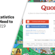 15 Quora Statistics Marketers Need to Know For 2019