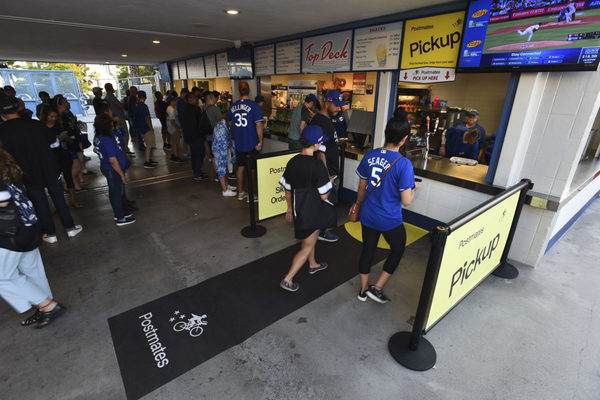 Postmates Scores Multi-Year Partnership With the Los Angeles Dodgers