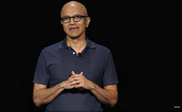 Here's why Microsoft CEO Satya Nadella just showed up on stage at Samsung's big event