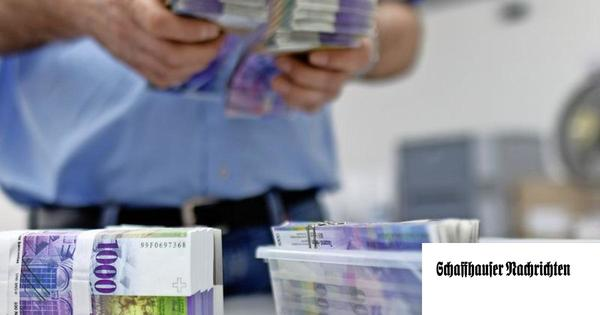 Kanton Schaffhausen nimmt deutlich mehr Steuern ein
