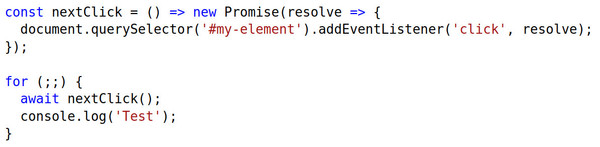 Promises and async/await wrap reactive code so you can use imperative style