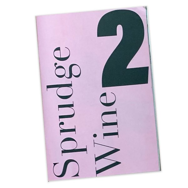 We are now shipping our latest zine! Sprudge Wine: Year Two!
