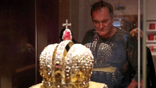 Tarantino visited the Kremlin museums… and became a Russian internet meme (PHOTOS) | Russia Beyond