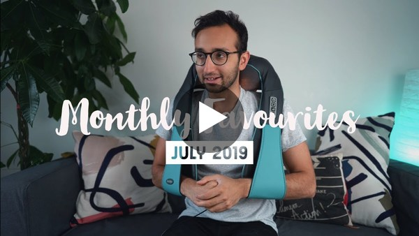 July Favourites 2019 - Ali Abdaal || Monthly Favorites