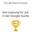 Google Search Console versendet jetzt monatlichen Leistungsbericht - SEO Südwest