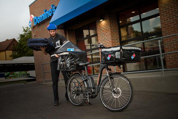 Domino's to Launch E-Bike Program Across the U.S.