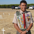 Kingsburg High School senior places nearly 100 metal crosses at grave sites of abandoned peoples as part of Eagle Scout project | abc30.com
