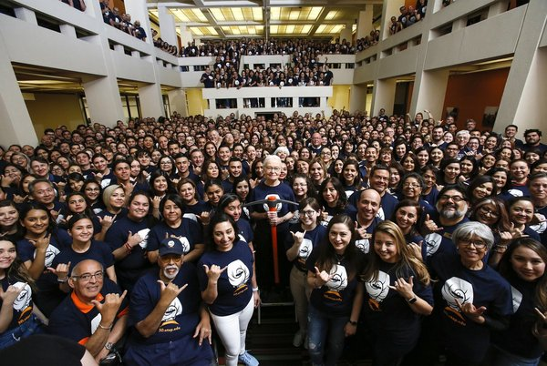 Farewell, Madam President: Diana Natalicio retires after 31 years as UT-El Paso's leader
