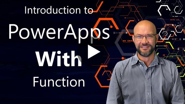 PowerApps New With Function - Basic Introduction (2019)