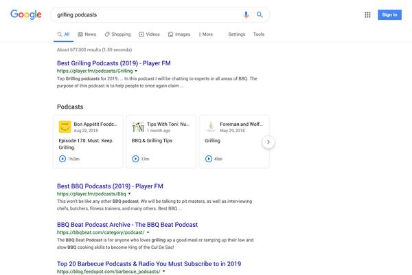 Yderligere integration hos Google