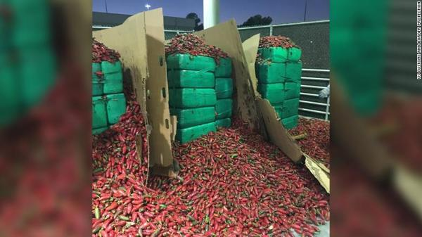Nearly 4 tons of weed discovered inside a shipment of jalapeños | YourCentralValley.com