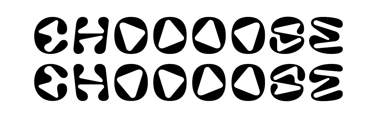 Basic letters and their mirrored or shifted alternates