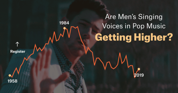 Are Men Singing Higher in Pop Music?