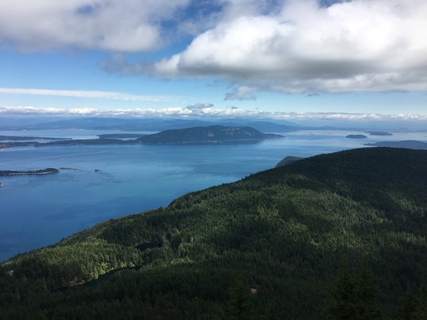The View from Mount Constitution (2,400ft)