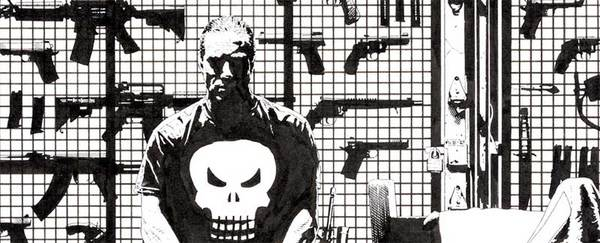Tim Bradstreet - Punisher #50 original Cover art