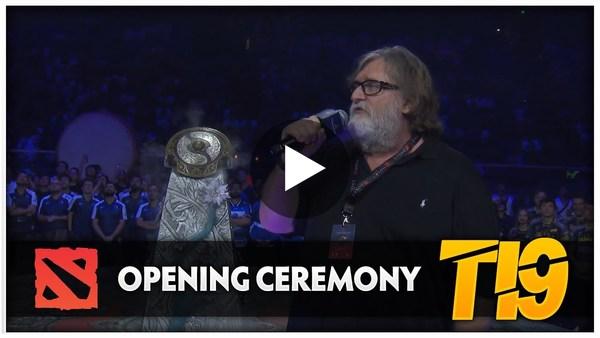 Dota 2 #TI9 Opening Ceremony