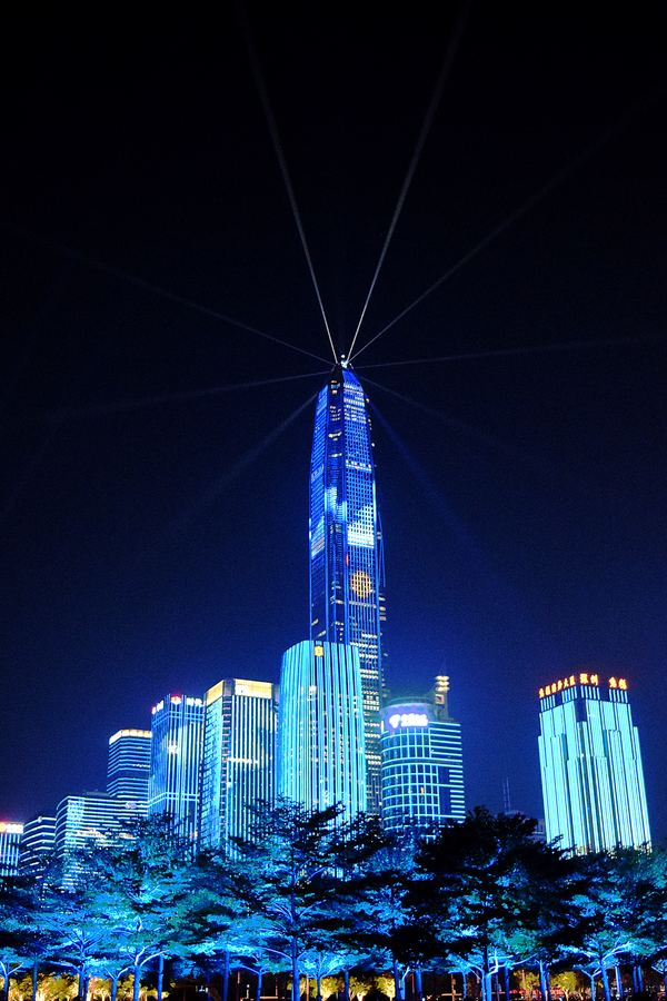 """Shenzhen Light show"" by Aaron Greenwood on Unsplash"