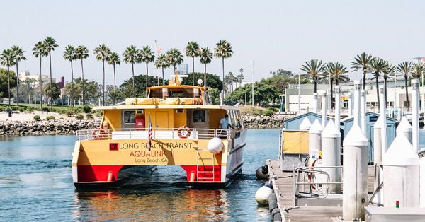 Long Beach's water taxi is one of LA's hidden gems