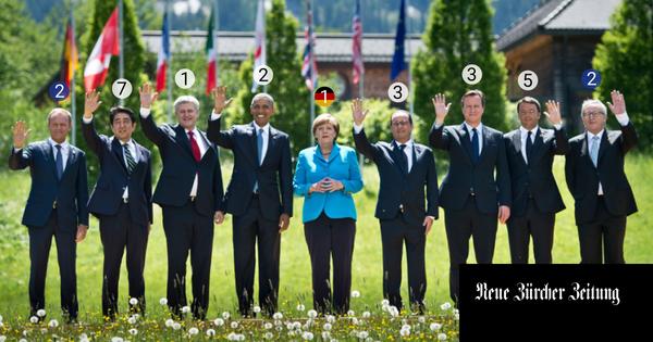 Staats- und Regierungschefs kommen und gehen, Angela Merkel bleibt