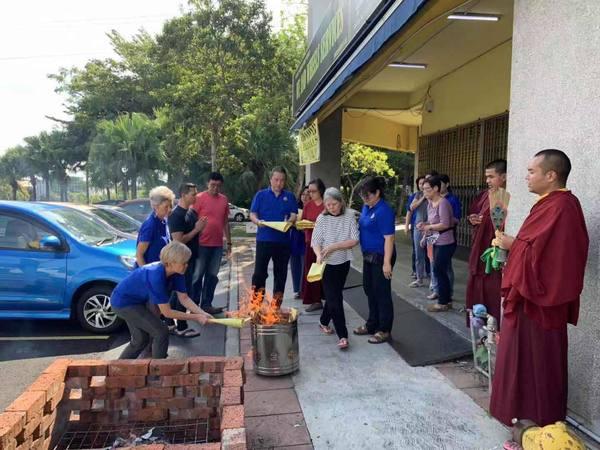 Drupla Sonam Tsering in Malaysia